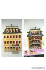 Playmobil Victorian Grand Mansion 5301 & 7776 - Furnished 14 Figures & Manuals!