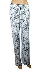 Cynthia Rowley Women's Sleepwear Lounge Pants Pajamas Medium Nautical Text