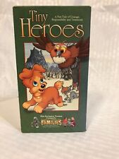 Tiny Heroes VHS Video Tape Movie