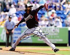 Ervin Santana Minnesota Twins Autographed 8x10  Photo comes with COA es2T