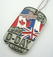 D.DAY FLAGS (Commemorative Dog Tag)