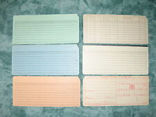 10 Vintage Computer Punch Cards - Selection - Unpunched - Post World Wide