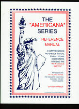 The Americana Series Reference Manual Definative Set SC#1581-1619  A. Maniker