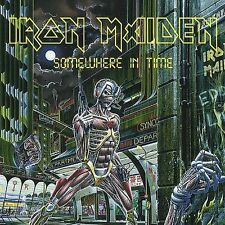 Iron Maiden Somewhere in Time [Remastered] [Enhanced] (CD, 1998 Sanctuary)