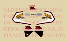 HONDA XL 125 S 1982 MOTO ROSSA ADESIVI STICKERS