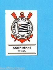 FOOTBALL CLUBS-PANINI 1975-Figurina n.39- CORINTHIANS - BRASILE -SCUDETTO-Rec