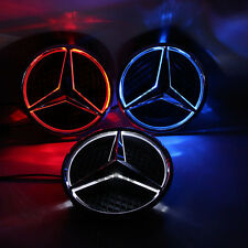 Illuminated 2013-2016 Car Led Grille BlLED Logo Emblem Light For Mercedes Benz