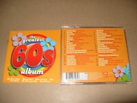 The Greatest 60's Album (2004) 2 cd  cds are excellent condition