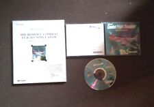 MICROSOFT COMBAT FLIGHT SIMULATOR WWII EUROPE SERIES - PC GAME WITH MANUAL - VGC