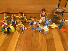 Disney Characters Figures & Accessories Lot of 20+ from Various Disney Movies