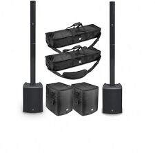 LD Systems Maui 28 G2 Column PA System With Mixer Bluetooth and Carry Bags
