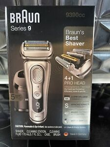 Braun Series 9 9390cc Shaver Wet Dry Electric Razor Precision Trimmer UNOPENED
