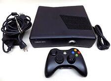 Microsoft Xbox 360 S 1439 Slim Edition 250GB System Black Video Game Console