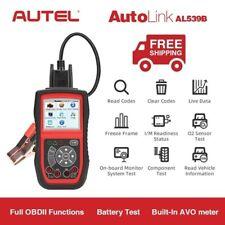 Autel AutoLink AL539B OBD2 II EOBD Battery Testing Read Clear Fault Codes Reader