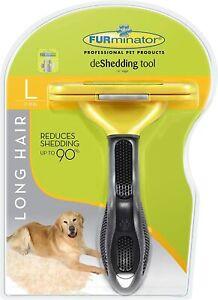 FURminator Undercoat deShedding Tool for Long Hair Large Dogs