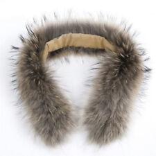 70cm Soft  Pelz Kragen Luxuriös Pelzkragen Real Fell Fur Collar Schal Fellkragen