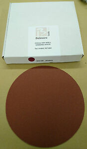 Drywall Sanding Discs Belmore Red 220 mm (25)
