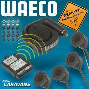 Waeco Reverse Parking 4 Backup Sensors Reversing Alarm System Kit Car MWE2000