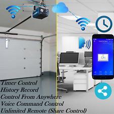 WIFI Garage Door Opener with Alexa and Google Home smartphone app iphone Android