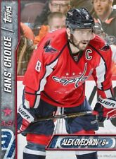FAN'S CHOICE 2017 ALEX OVECHKIN Topps NHL Skate Digital Card