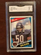 1984 Topps Mike Singletary #232 Chicago Bears Gma 7