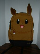 Pokemon Eevee backpack school book bag official licensed Nintendo Loungefly NEW