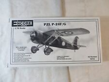 Encore Models 1:72 PZL P-24F/G Model Kit 1015 SEALED