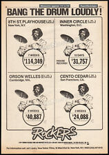 ROCKERS__Orig. 1980 Trade AD / poster__LEROY 'HORSEMOUTH' WALLACE_Reggae_Jamaica
