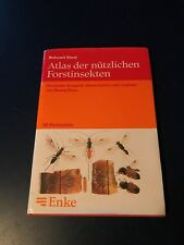"""Atlas der Nutzlichen Forstinsekten"" 1990 entomology forestry insects German"