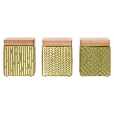 Ladelle biotiques Sage Mini Boîtes Set de 3 de Rangement Cuisine Pots Small Mixt...