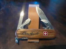 Wenger Oak Dayhiker, Eddie Bauer logo, Locking Main Blade