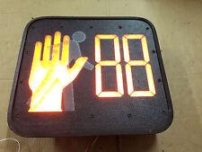 Dialight LED Pedestrian Traffic Signal Countdown 430-6479-001X Walk Stop Light