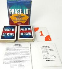 Phase 10 Card Game Fundex Games Old Box Logo 2-6 Players Ages 8+ 1992