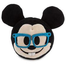 "Disney - Mickey Mouse Glasses Emoji Plush - Small - 4"""