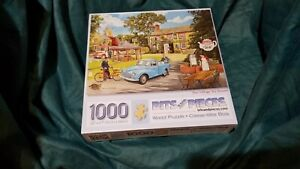 "Bits and Pieces 1000 Piece Jigsaw Puzzle  ""The Village Tea Rooms"""