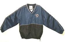 Vintage St Louis Rams NFL Jacket Pullover/Windbreaker- Size XL