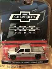 Greenlight  Anniversary Series 2018 Chevrolet Silverado pickup Redline Edition
