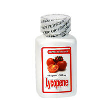 Tomato Extract LYCOPENE 60 x 500mg PROSTATE HEALTH SUPPORT & SUPER ANTIOXIDANT
