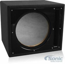 "Belva Bbx112Bk 12"" Inch Car Audio Ported Subwoofer Box Enclosure w/ Black Baffle"