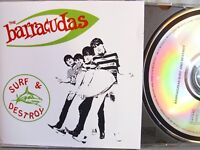 The Barracudas- Surf & Destroy- REVENGE Made in France 1990- WIE NEU