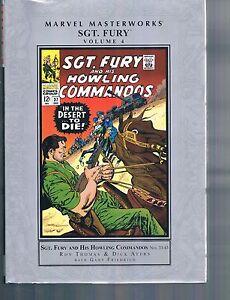 Marvel Masterworks Sgt Fury & His Howling Commandos Vol 4  Thomas Ayers 2012 HC