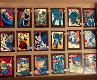 1992 Skybox DC COMICS DOOMSDAY DEATH of SUPERMAN Complete Base Set 100 NEW MINT