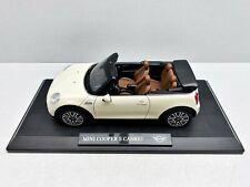 MINI Cooper S Cabrio Argento ca 1//43 1//36-1//46 modellcarsonline modello auto con...