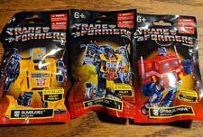 Prexio Transformers G1 Bumblebee Optimus prime grimlok Mini Figures Sealed