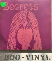"""secrets 7"""" good vibrations -autographed Rare Vinyl Record Ex Con"""