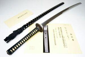 "NBTHK & DAIMYO Registry: Japanese Samurai Long Katana Sword ""Kaneuji兼氏"" Nihonto"