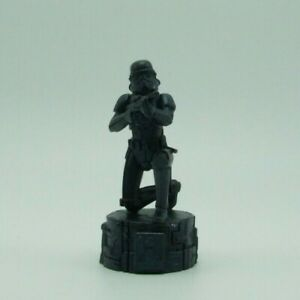 Star Wars Saga Black Imperial Storm Trooper Pawn Chess Replacement Game Piece