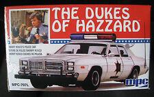 Roscoe's Dodge Mónaco Police Car Dukes of Hazzard kit * * MPC * 1:25 * nuevo