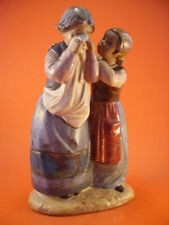 """STATUINA LLADRO GRES """"Comforting her Friend"""""""