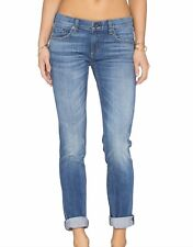 RAG & BONE/JEAN THE DRE SLIM FIT BOYFRIEND JEANS WORN FADED POCKETS SZ 25